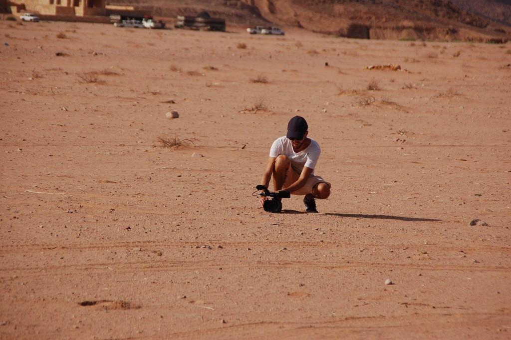 Tournage en Jordanie