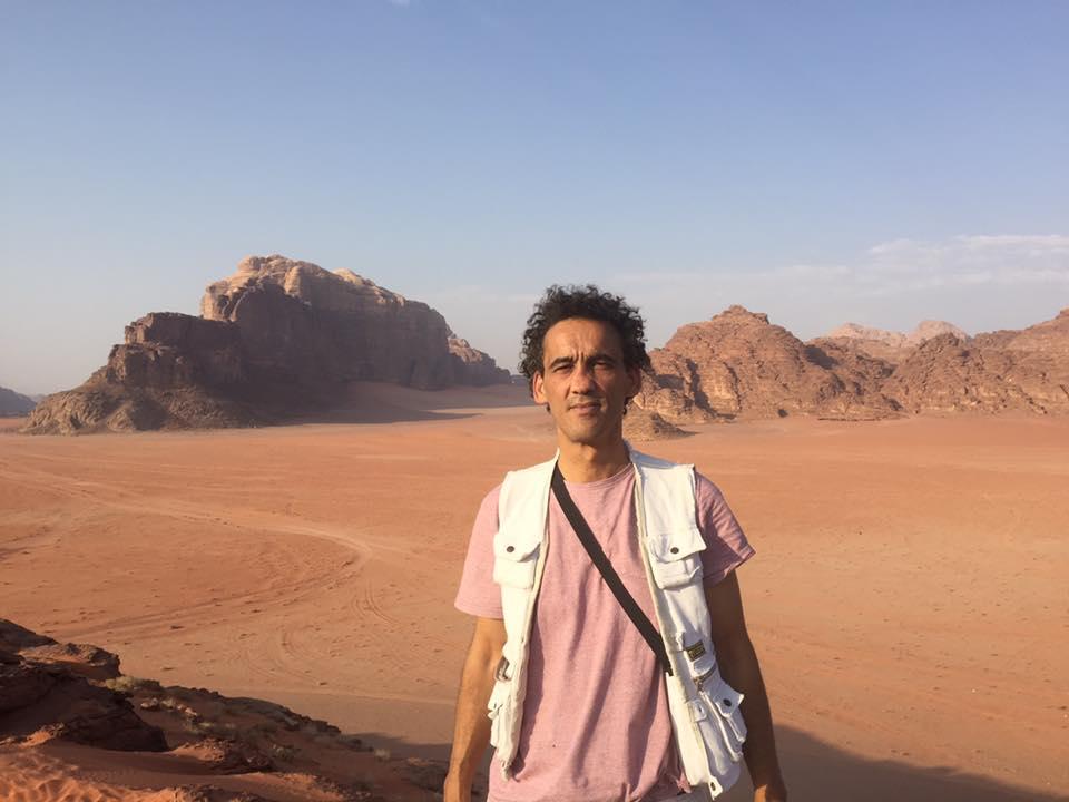 Morgan Railane - Professeur de Géopolitique du Islam et l'organisateur du voyage