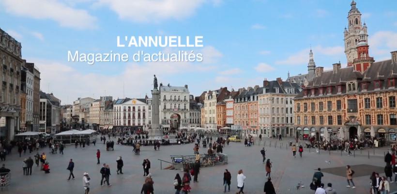« L'Annuelle », le magazine 100% réalisé par les étudiants de l'ESJ Paris Grand Lille (M2)