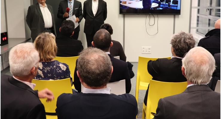 Inauguration de nos nouveaux locaux et officialisation de notre adhésion à l'Université Catholique de Lille